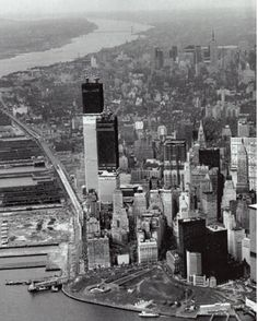 1971 aeriel of Trade Towers. Mike Smith There is a great old documentary video on youtube from 1979 from the port authority nyc. It shows film from clearing the land, the digging, to everything. Its an amazing film.