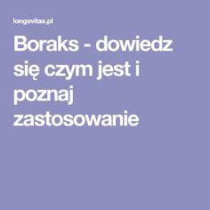 Boraks - dowiedz się czym jest i poznaj zastosowanie Health, Recepta, Metal, Health Care, Metals, Salud
