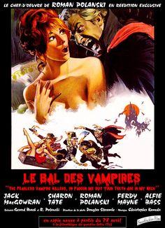 Le Bal des vampires  est un film de Roman Polanski de 1967  avec Roman Polanski, Jack MacGowran.