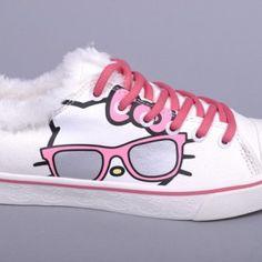 Hello Kitty Iris Sneakers (White)