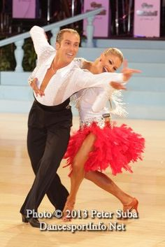 Riccardo and Yulia.  I love the joy on her face, and that dress!