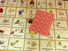 vahvuuskortit Advent Calendar, Playing Cards, Holiday Decor, Advent Calenders, Playing Card Games, Game Cards, Playing Card