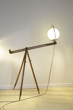 Triplight lamp by Récupatine