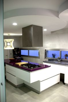 Purple counter top?