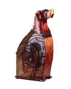 Amazon.com: Deco Breeze DBF0359 Decorative Figurine 30-Watt Metal Fan, Dog: Home & Kitchen