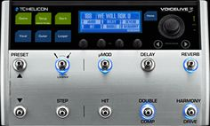 Tc helicon voice 3. All the functions promo