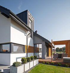 Taras styl Nowoczesny - zdjęcie od DOMY Z WIZJĄ - nowoczesne projekty domów - Taras - Styl Nowoczesny - DOMY Z WIZJĄ - nowoczesne projekty domów