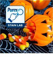Purex Stain Lab: How to Remove Halloween #Candy Stains - By Tasha Zander, Purex Senior Scientist