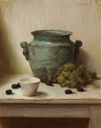 Olives Oregano by Grace Mehan DeVito