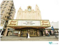 Landmark Loews Theatre in Jersey City #uniquevenue #njvenue photo by de nueva photography