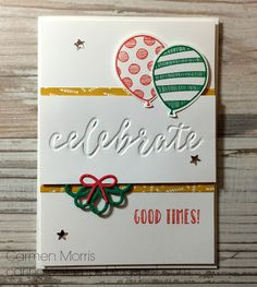 Spring/ Summer Catalog Countdown #22: Stampin' Up! ~ Balloon Adventures