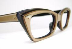 Vintage 50' Cat Eye Eyeglasses