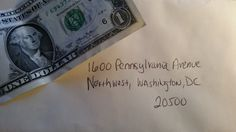 John Bury asks all Americans to send one dollar to the White House to support #Veterans
