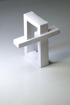 長方形の目の錯覚アート
