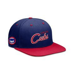 Chicago Cubs Cooperstown Snapback Adjustable Cap by Nike