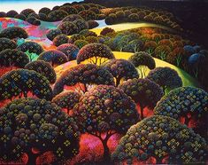 Eyvind Earle, Magical Forest