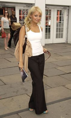 Nicole Ritchie - love this laid back sophisticated beauty!!!!