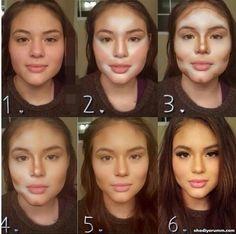 contorno maquiagem - Pesquisa Google