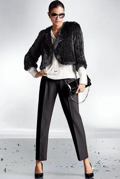 Madeleine Short Fur Jacket