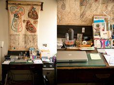 ideal desk area
