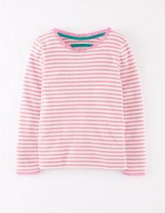 Pointelle Marl T-shirt 31790 Essentials at Boden