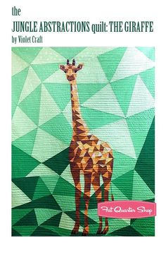 Giraffe quilt I must make!