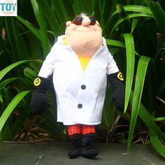 Despicable Me Movie Doctor Dr.Nefario Plush Soft Toy Stuffed Animal Figure 13/""