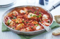 Be sure to impress your dinner guests with this Cod and chorizo stew. Find this recipe and hundreds of other recipes at Tesco Real Food today!