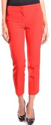 RED Valentino Women's Red Wool Pants.
