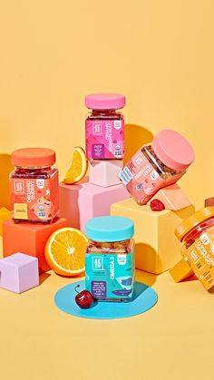 Organic gummy vitamin goodness for the whole family, delivered to your doorstep! Food Packaging Design, Packaging Design Inspiration, Branding Design, Food Graphic Design, Creative Photography, Product Photography, Social Media Design, Bottle Design, Vitamins