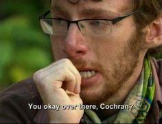 awww cochran is worried