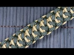 Rigid King Cobra Paracord Buckle Bracelet (Paracord 101) *** This tutorial shows you how to make a paracord buckle bracelet. In this video Paracord 101 shows...
