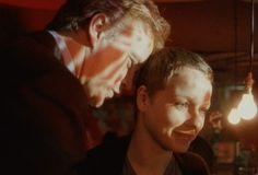 """William Geld (Tim Robbins) and Maria Gonzalez (Samantha Morton) in """"Code 46"""" - 2003"""