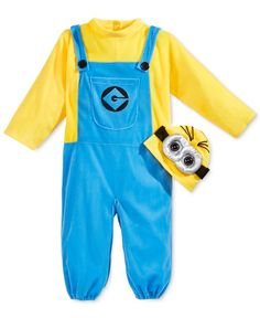 1dfbc1e545 Despicable Me Toddler Boys  or Toddler Girls  Minion Costume Set   Reviews  - All Toys   Games - Kids - Macy s