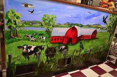A & B, Grand Isle VT.  Deli wall  2013