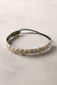 Marshmallow world headband.