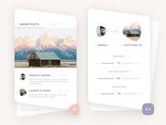 Travel app glimpse