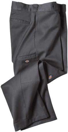 Gray Dickies Double Knee