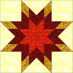 Patchwork en Casa - Patchwork with Love: Bloque de la Semana: Eight Point Star (2ª Parte) L...