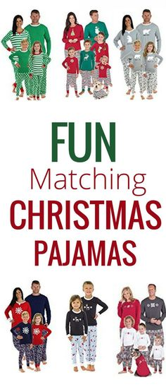 81ef4947d8 Matching Christmas Pajamas for the Entire Family