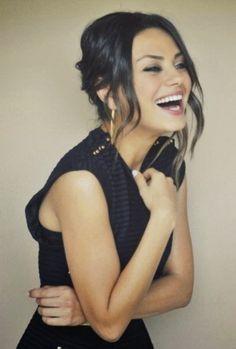 Mila Kunis Smile  14 photos  Morably