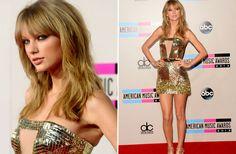 Luce escotes como Taylor Swift