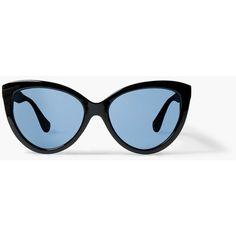 MANGO Cat Eye Sunglasses (205.440 IDR) ❤ liked on Polyvore featuring accessories, eyewear, sunglasses, black, black glasses, black cat eye sunglasses, acetate glasses, black sunglasses and black cat eye glasses