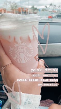 Starbucks Menu, Bebidas Do Starbucks, Healthy Starbucks Drinks, Starbucks Secret Menu Drinks, How To Order Starbucks, Starbucks Coffee, Smoothie Drinks, Smoothies, Coffee Drink Recipes