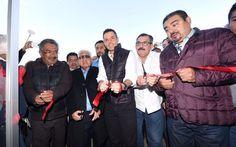 Inauguran Murat y Movimiento Antorchista Polideportivo en la zona norte de la capital