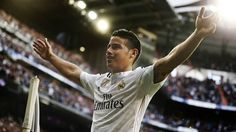 Real Madrid 3-0 Almeria:James Rodriguez scores wonder goal as Carlo Ancelotti's side cut Barcelona's La Liga lead to two points   Daily Mail Online