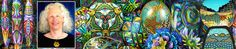 Designs like Multicolored Snowflakes: 36 Kaleidoscopes from A Single Master Cane | Carol Simmons Designs