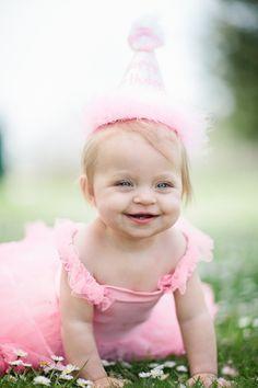 Birthday Baby, so cute!