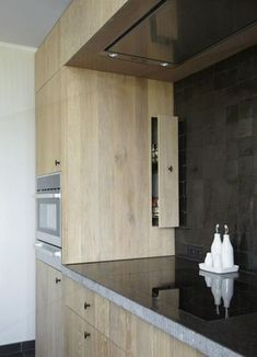 concealed drawer can cover corner space Kitchen Cabinetry, Kitchen Pantry, New Kitchen, Cuisines Diy, Cuisines Design, Small Space Interior Design, Interior Design Kitchen, Kitchen Dinning, Kitchen Decor