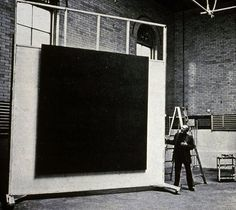 Mark Rothko in his 69th Street studio, ca 1964. Photo Hans Namuth.